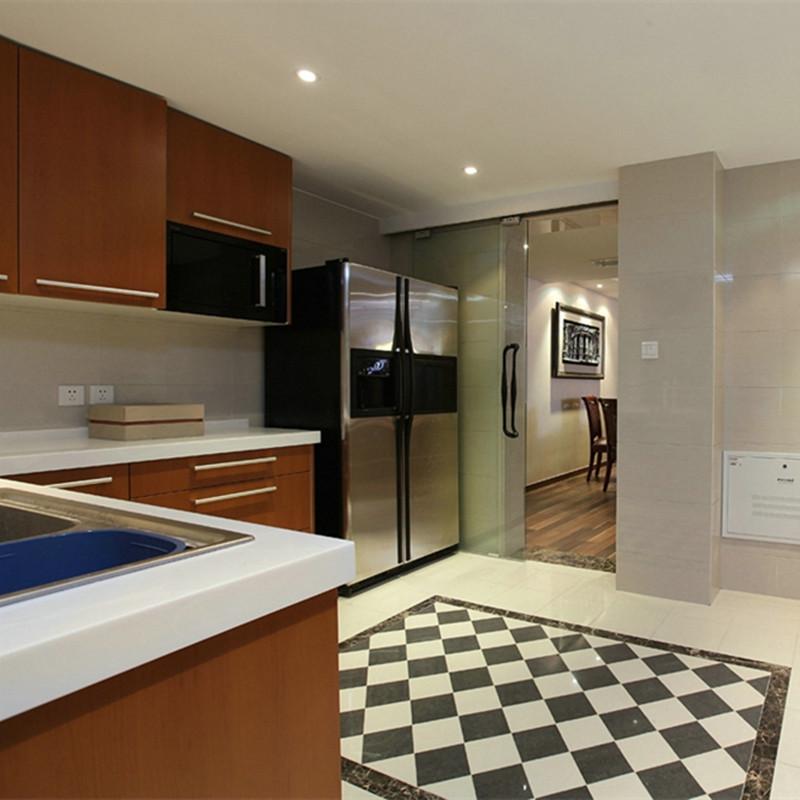 大户型美式混搭装修厨房设计图