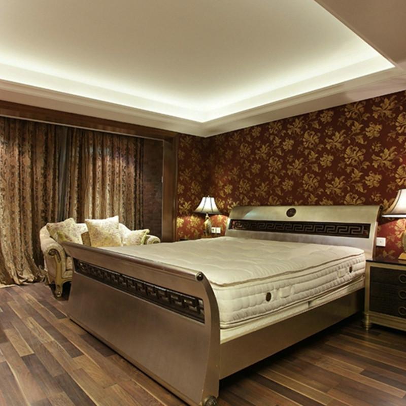 大户型美式混搭装修卧室背景墙图片
