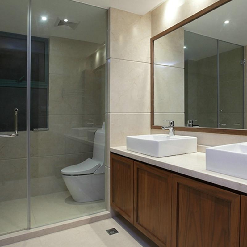 大户型美式混搭装修浴室柜图片