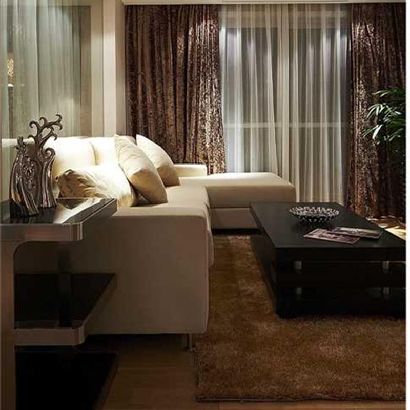 175平三居室客厅装修效果图