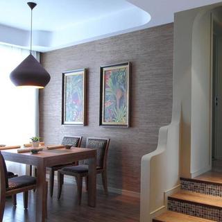 东南亚两居之家餐厅背景墙图片