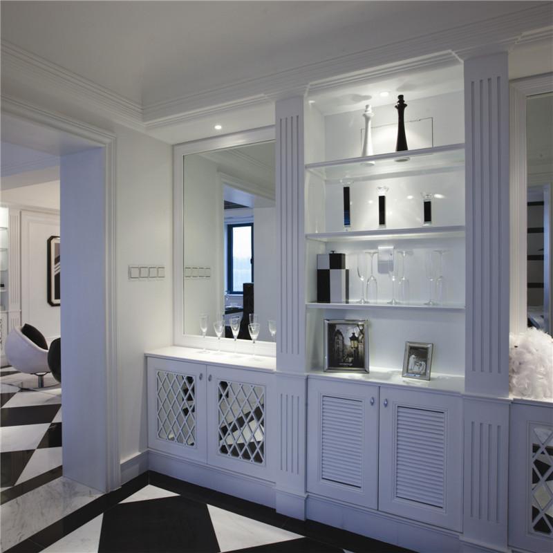 现代风格装修餐边柜图片