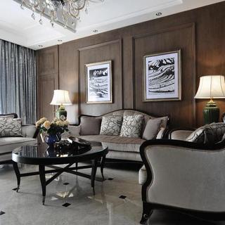 古典美式混搭别墅装修设计图