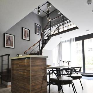 50㎡小复式公寓装修设计图