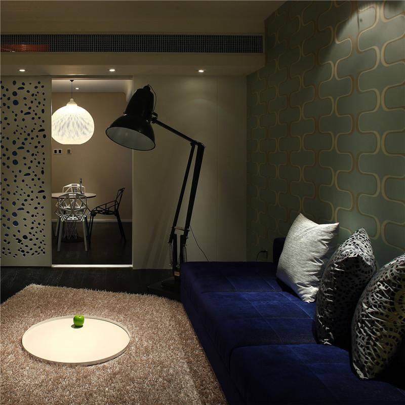 一居室简约小户型装修客厅一角