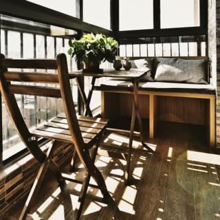 90平北欧风情两居装修设计图