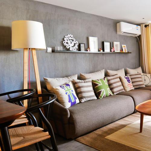 一居室小户型Loft装修沙发背景墙图片