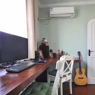 小户型地中海风格公寓装修书房布置图