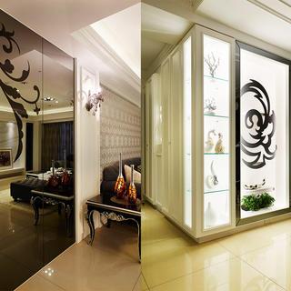 现代古典装修储藏展示柜设计