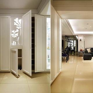 现代古典装修玄关设计图