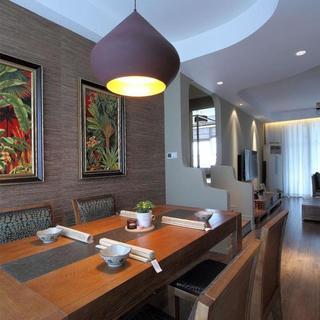东南亚两居之家餐厅设计图