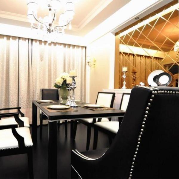 新古典三居之家餐桌图片