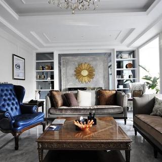 古典美式别墅装修效果图