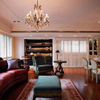 欧式风格装修客厅一角