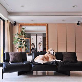 大户型现代简约风格装修沙发图片