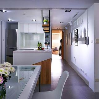 60平小户型一居室装修厨房搭配图