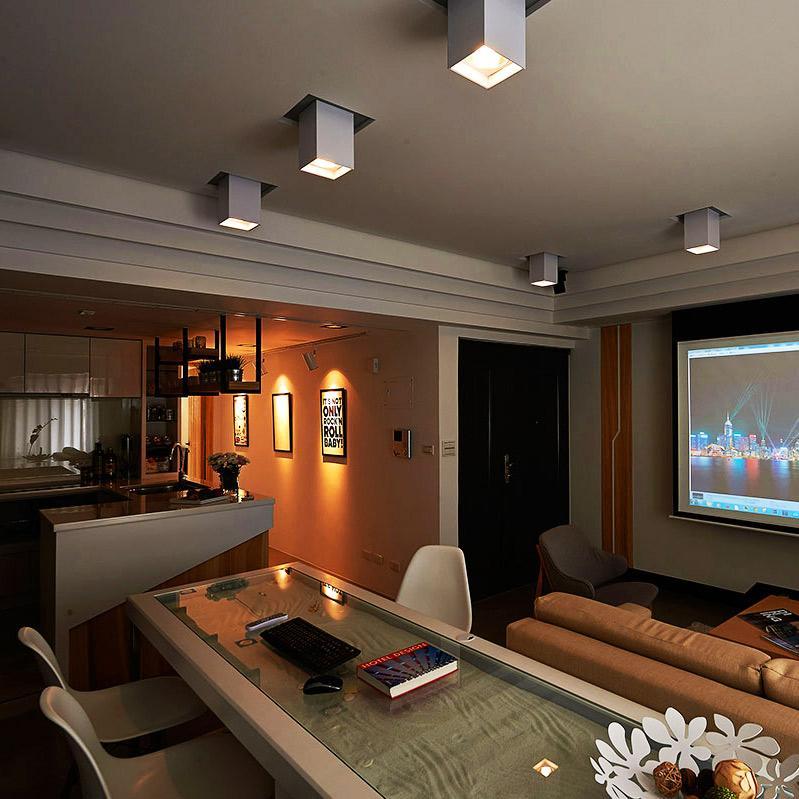 60平小户型一居室装修吊顶设计
