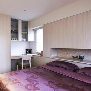 现代简约两居之家卧室搭配图