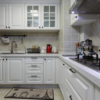 美式两居厨房装修效果图