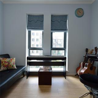 简约清新三居室装修休闲室布置图