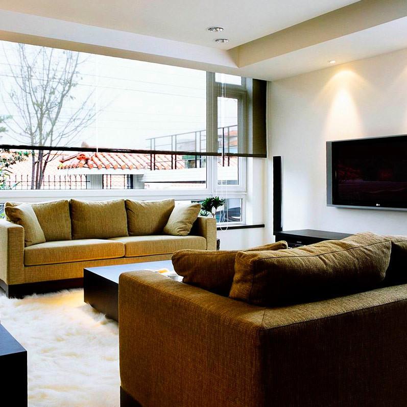 现代风格别墅装修沙发图片