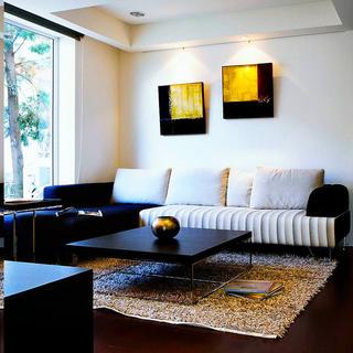 现代风格别墅装修沙发背景墙设计