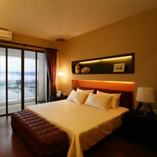140平东南亚风格家卧室搭配图