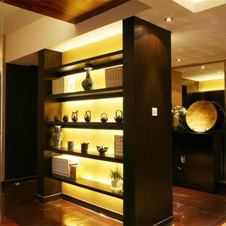 140平东南亚风格家展示架图片