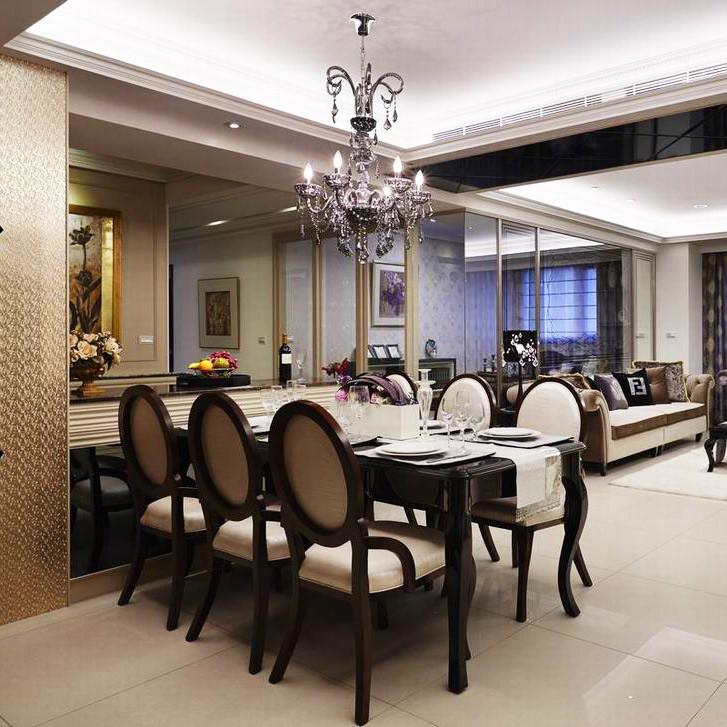 现代雅致风格装修餐厅效果图