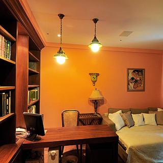意大利风情三居书房设计图