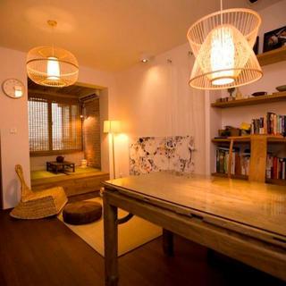 65平中式风格家吊灯设计