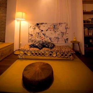 65平中式风格家客厅布置图