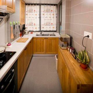 65平中式风格家厨房布局图