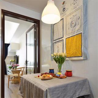 一居室小户型宜家风装修设计图