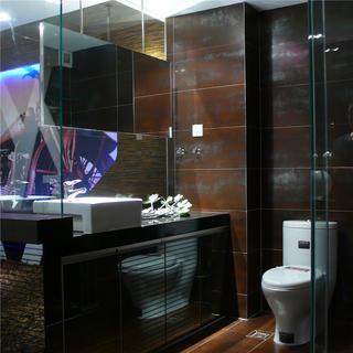 小户型装修浴室柜图片