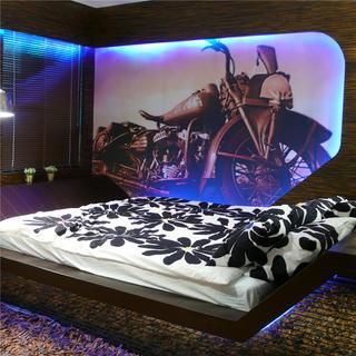 小户型装修卧室背景墙图片