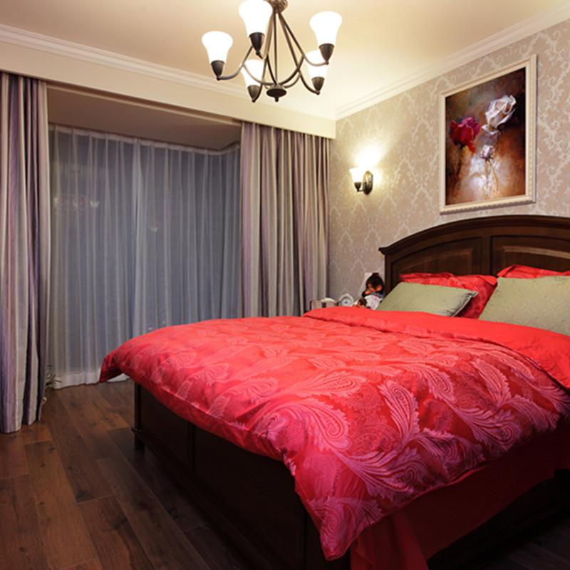 美式两居卧室装修效果图