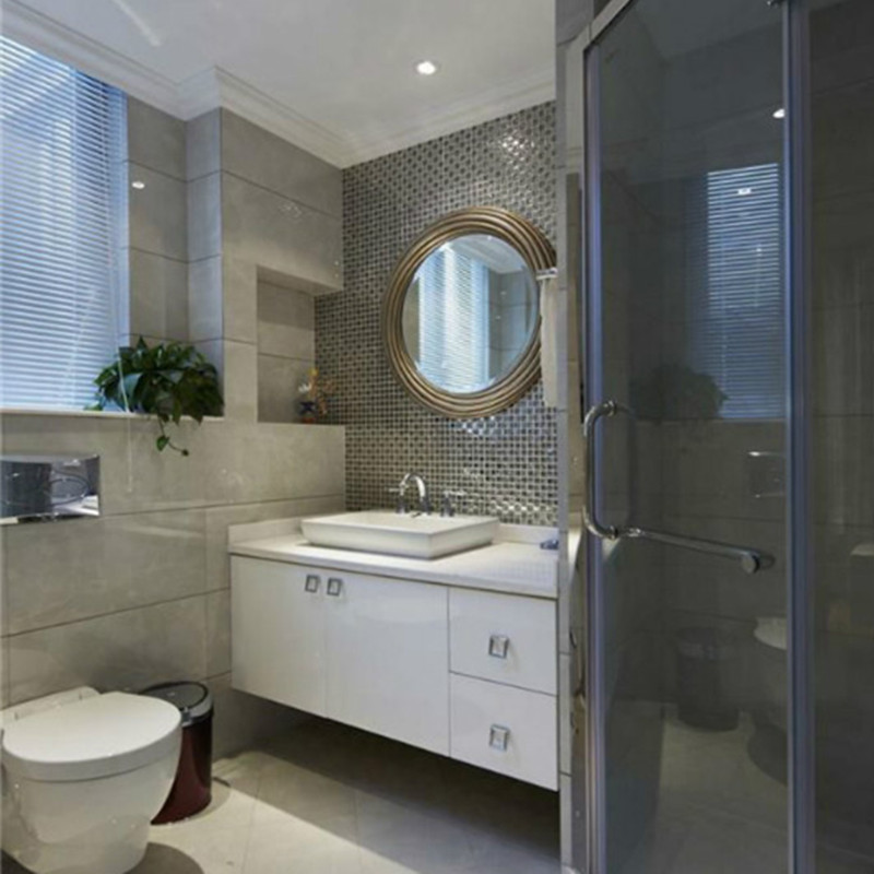140㎡欧式装修浴室柜图片