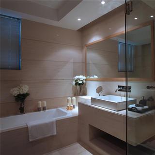 140㎡现代风格卫生间装修设计图