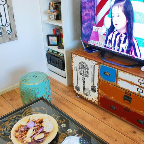 小户型混搭装修电视柜设计