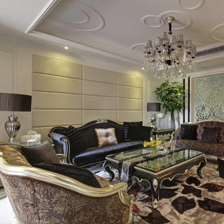 新古典别墅装修设计 华贵优雅