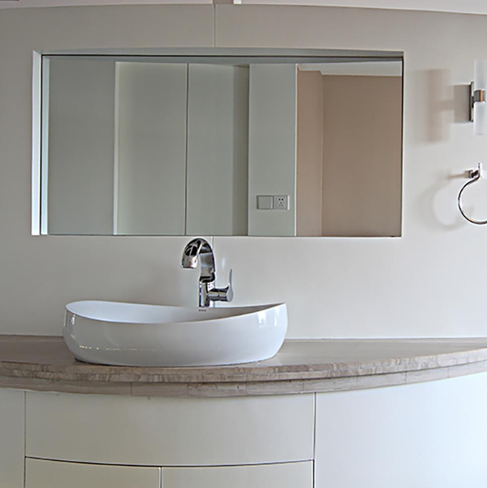 现代风格两居之家洗手台图片