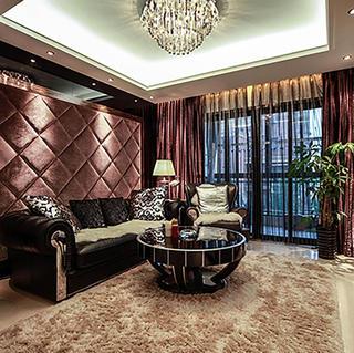 新古典两居室公寓装修效果图