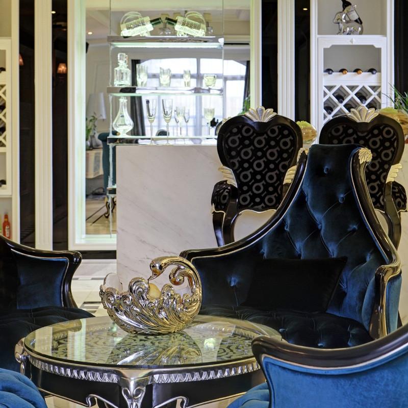 新古典别墅装修沙发椅设计