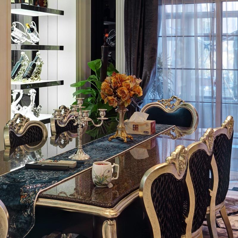新古典别墅装修餐桌椅图片
