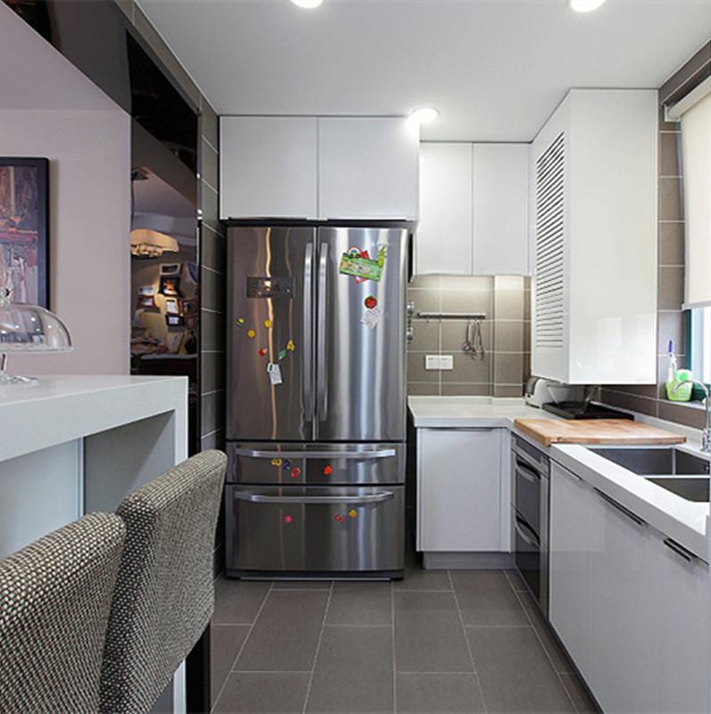 120平现代简约之家厨房装修效果图