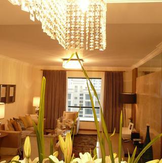 80平新中式两居装修吊灯设计