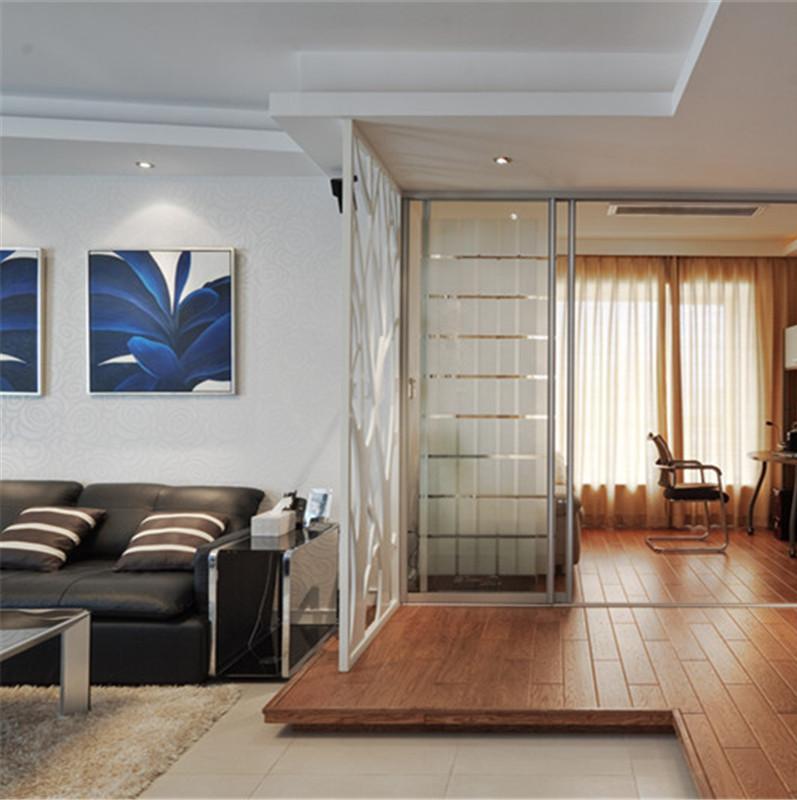 三居室现代简约装修地台设计