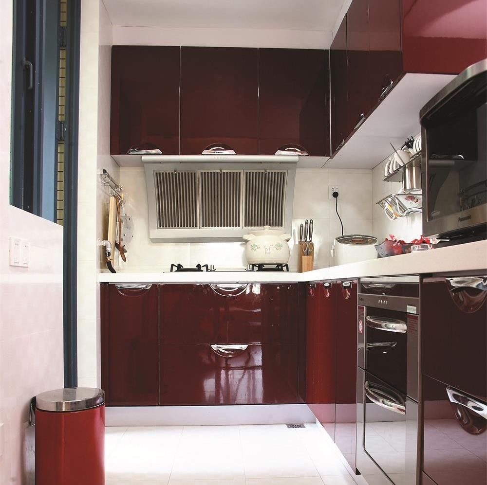 简约二居室装修厨房设计图