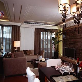 100平三居室365体育在线官网直营吊顶设计
